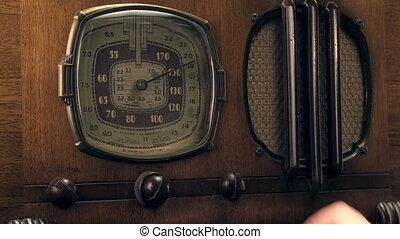 vendange, 1930's, radio