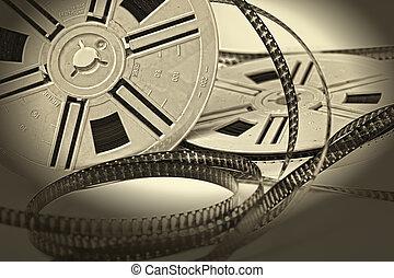 vendange, 8mm, film vieilli, film