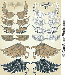 vendange, ailes