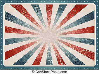 vendange, américain, fond
