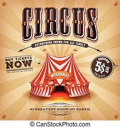 vendange, cirque, affiche