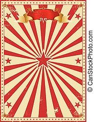 vendange, cirque, rouges