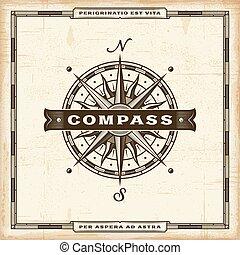 vendange, compas, étiquette