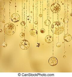 vendange, eps, year., joyeux, 8, nouveau, noël, heureux