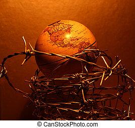 vendange, globe
