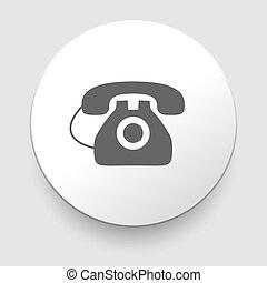 vendange, image, téléphone, isolé