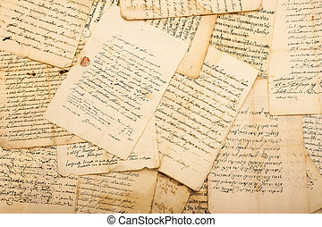vendange, lettres