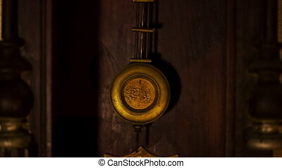 vendange, pendule, horloge