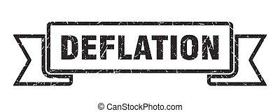 vendange, ruban, band., grunge, déflation, retro