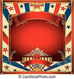 vendange, sommet, cirque, fond, grand, gentil