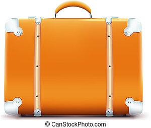 vendange, valise