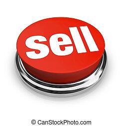 vendre, être, il, marchandises, mot, business, bouton marche, offre, il, vente, comment, clients, boîte, facile, services, représenter, ou, rouges