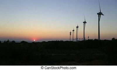 vent, défaillance, turbine, 7, temps