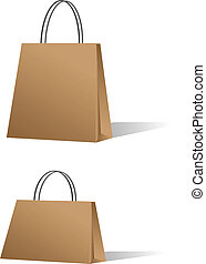vente, sacs, achats