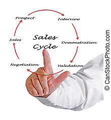 ventes, cycle