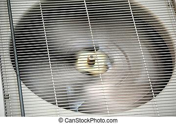 ventilateur, conditionnement, air