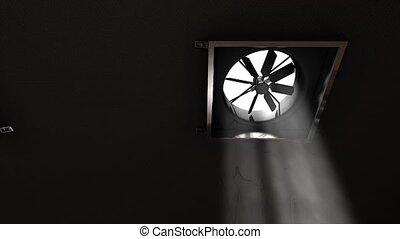 ventilation, ventilateur
