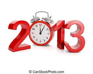 venue, fetes, illustration:, année, events., 2013, 3d