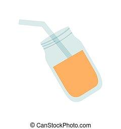 verre, boisson, pot, rafraîchissement
