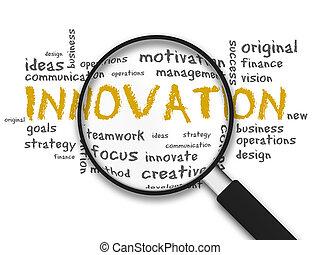 verre, -, magnifier, innovation