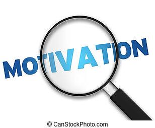 verre, motivation, -, magnifier