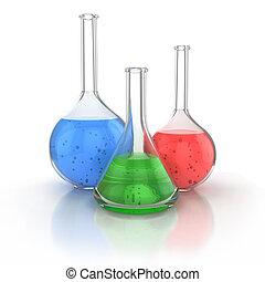 verrerie, laboratoire, classé