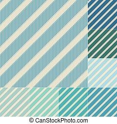 vert bleu, seamless, raies
