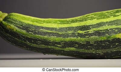vert, courge, courgette