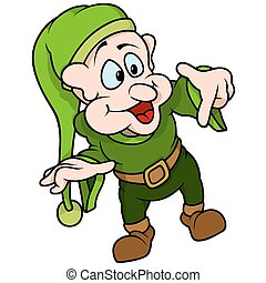 vert, elfe, pointage