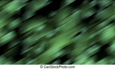 vert, incliné, bandes, métal
