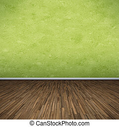 vert, plancher
