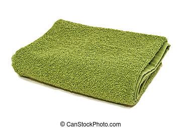 vert, serviette