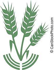vert, symbole, agriculture