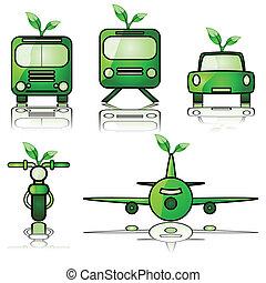 vert, transport