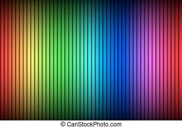 vertical, couleur, résumé, moderne, spectre, lignes, clair, vecteur, fond, fond