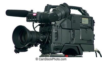 vidéo, numérique, professionnel, appareil photo