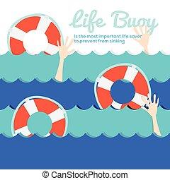 vie, buoy.