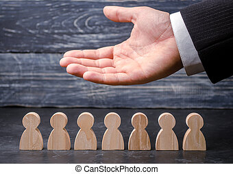 vie, fonctionnement, insurance., employees., représente, main-d'œuvre, éditorial, soin, union., commercialisation, resources., (ceo), segmentation, concepts., agencies., team., humain, staff., homme affaires, emploi