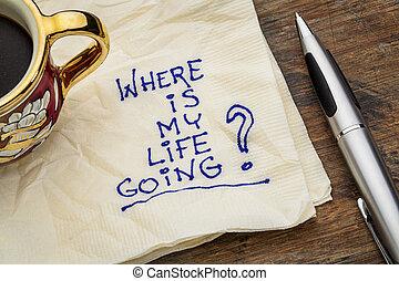 vie, mon, où, aller