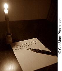 vieille lettre