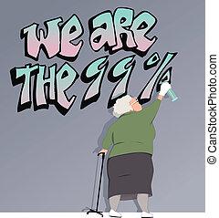 vieillissant, population