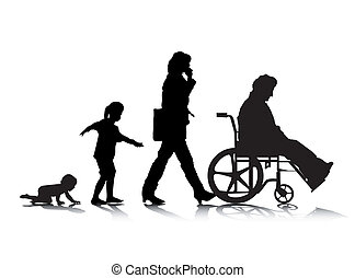 vieillissement, 4, humain