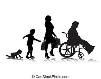 vieillissement, humain, 6