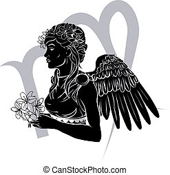 vierge, zodiaque, signe, horoscope, astrologie