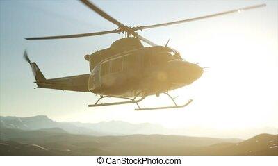 vietnam, militaire, mouvement, hélicoptère, etats unis, lent