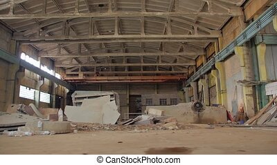 vieux, abandonnés, fabrication