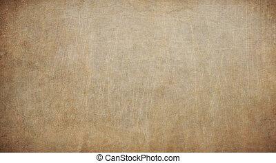 vieux, vendange, texture, papier, arrière-plan., brun