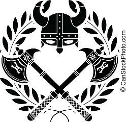 viking, glory., stencil., varian, premier