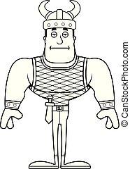 viking, percé, dessin animé
