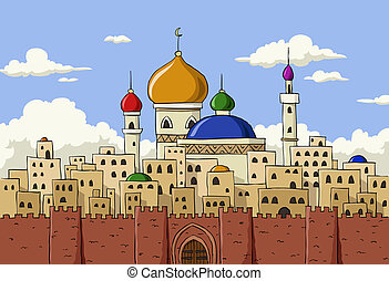 ville, arabe